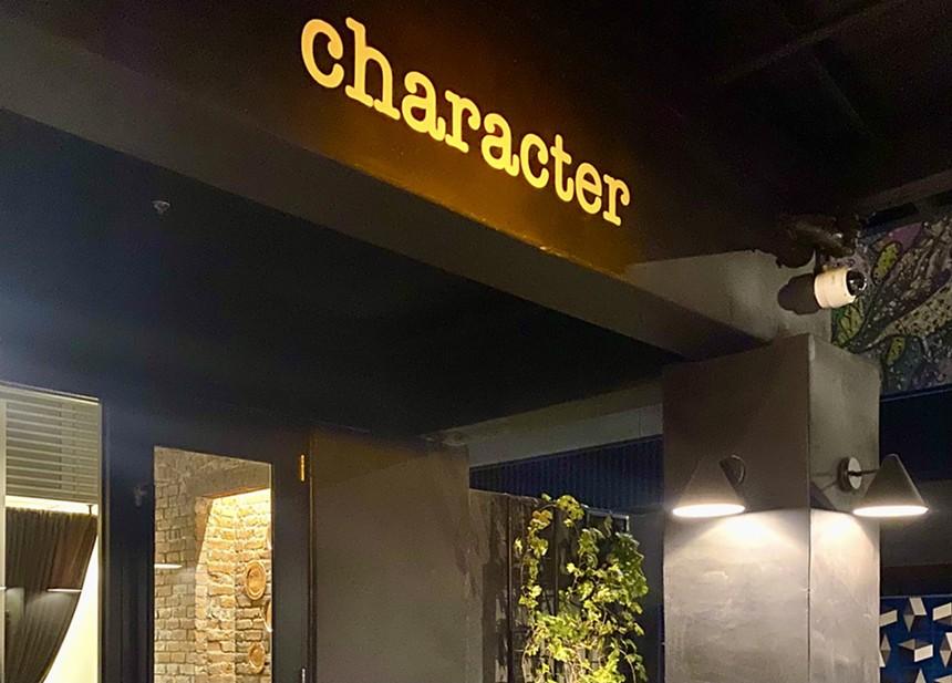 Character Distinctive Dining closed this month.  - NATASHA YEE