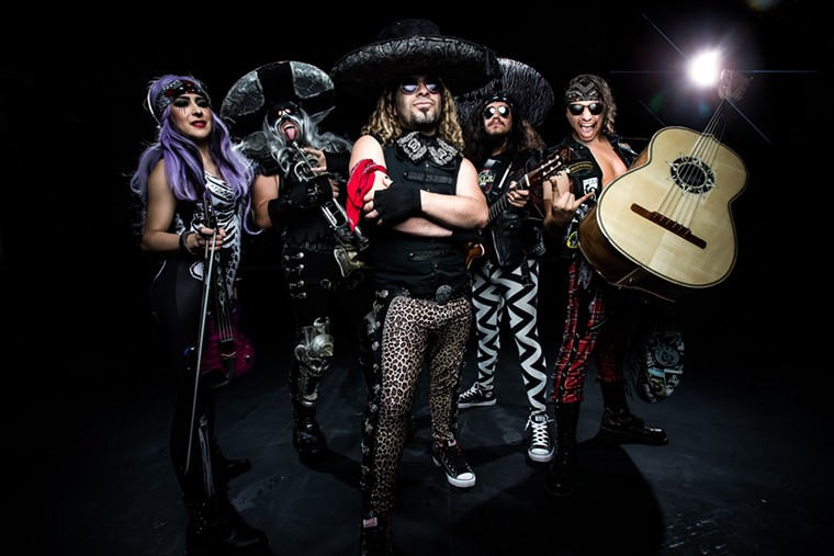 Metalachi will rock the Arizona State Fair on Saturday, October 16, and Sunday, October 17. - JEREMY SAFFER