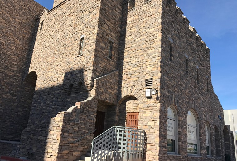 The Irish Cultural Center is getting a temporary Hogwarts makeover inside. - LYNN TRIMBLE