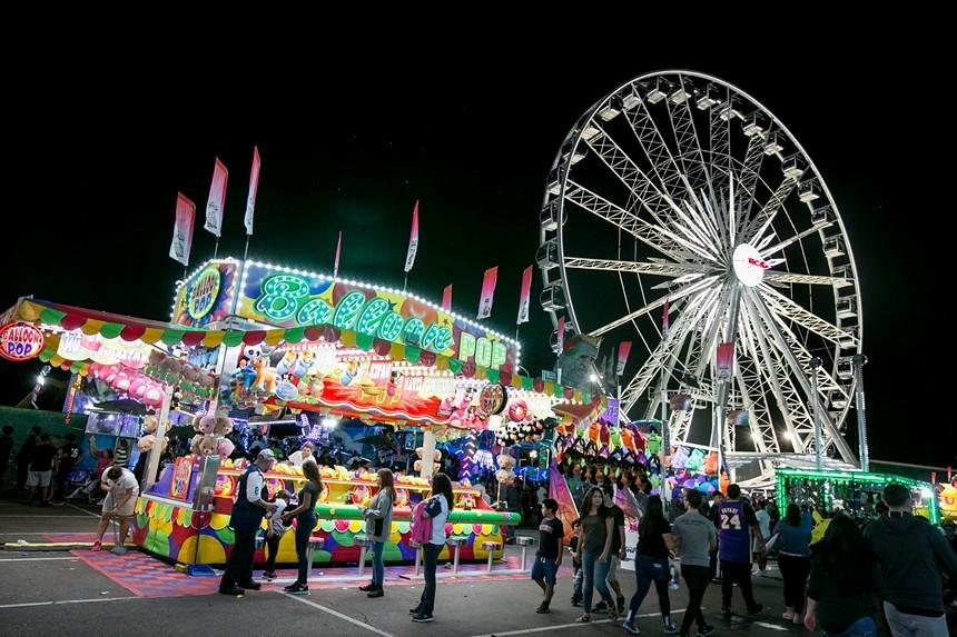 This year's Arizona State Fair awaits. - MELISSA FOSSUM