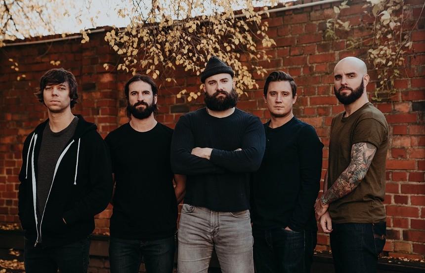 Metalcore band August Burns Red. - ATOM SPLITTER PR