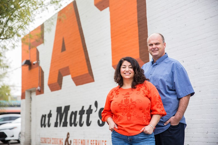 Owners Ernie and Matt Pool's newest breakfast and brunch spot opens this month at Arrowhead Ranch, with a fifth restaurant planned for early next year in Gilbert. - JACOB TYLER DUNN