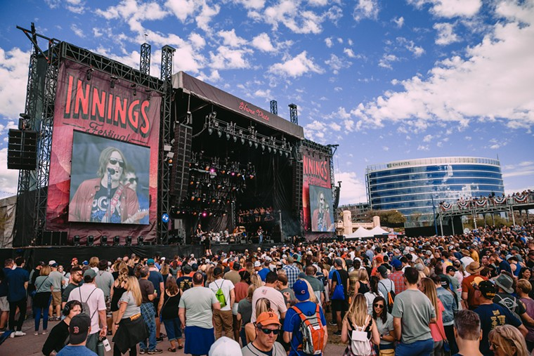 Throwback to a previous Innings Festival in Tempe. - KELSEE BECKER
