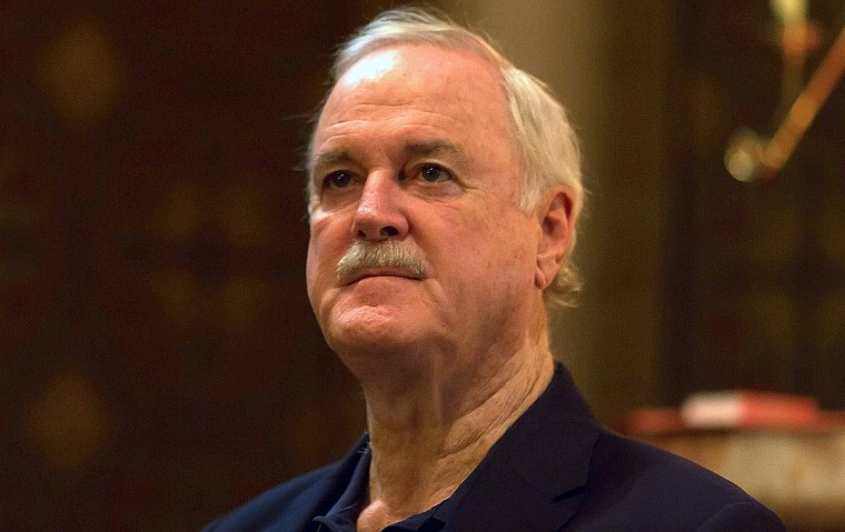 A 2014 photo of John Cleese. - BRUCE BAKER/CC BY 2.0/WIKIMEDIA COMMONS