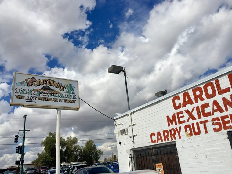 Carolina's Mexican Food is a Phoenix institution. - ALLISON YOUNG