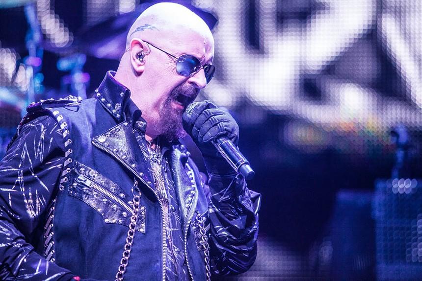 See Judas Priest downtown this fall. - JIM LOUVAU