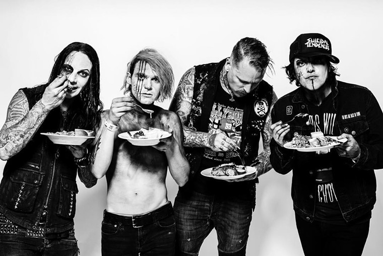 Take a bite of Combichrist's industrial noise this week at Pub Rock Live. - TOBIAS SUTTER PHOTOGRAPHY