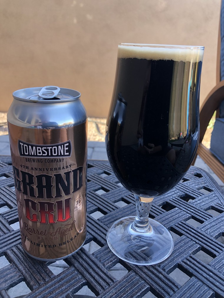 There are plenty of good options at Tombstone Brewing North. - CHRIS MALLOY