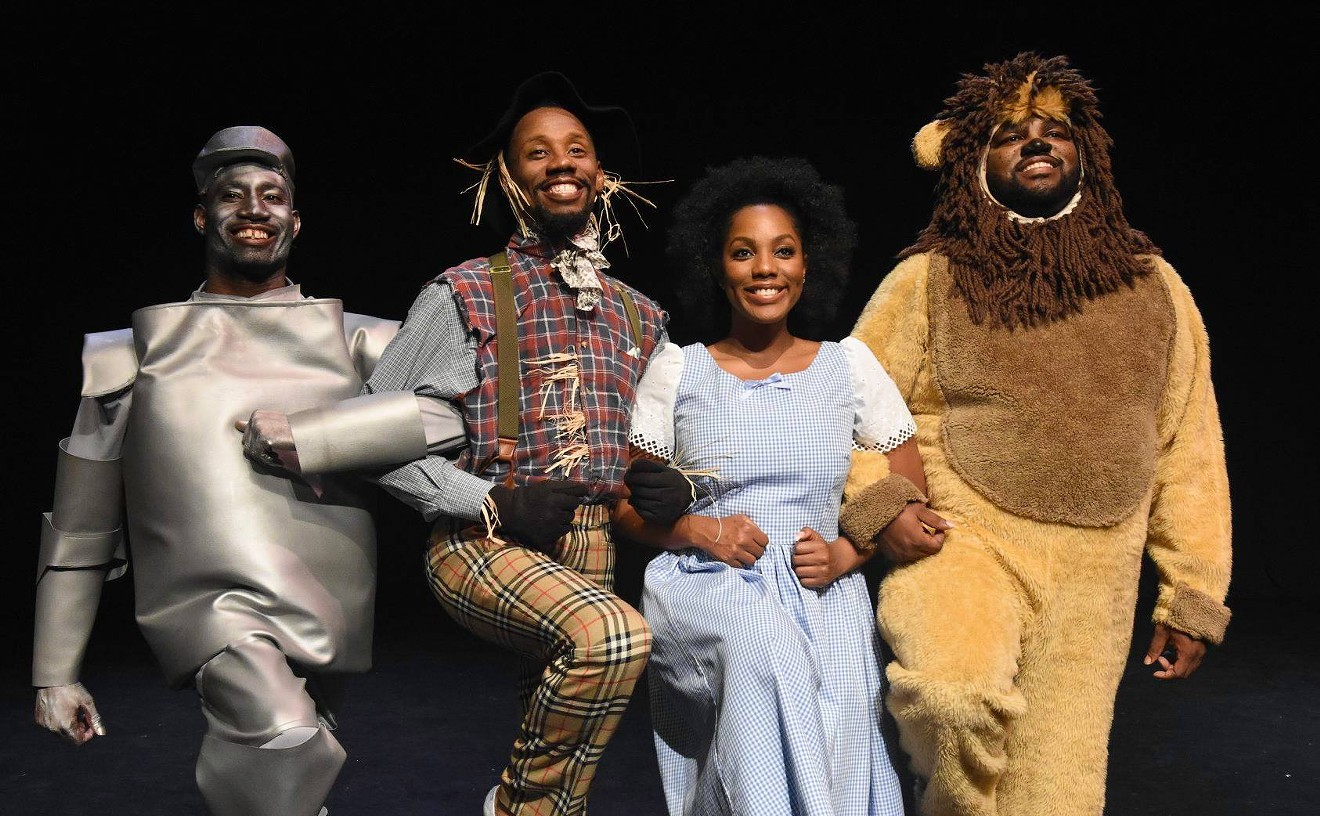 Throwback to a performance of The Wiz.
