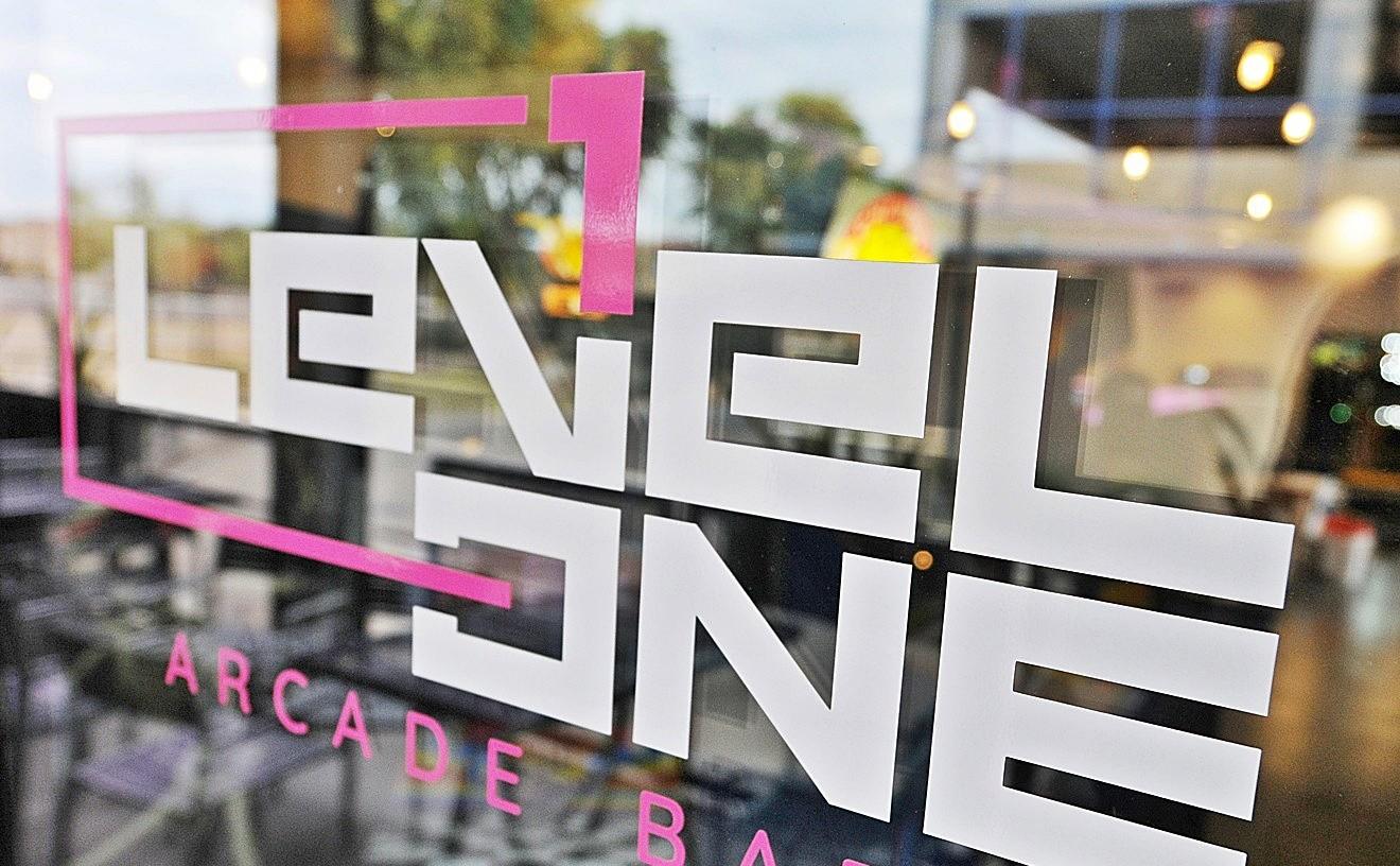 Level 1 Arcade Bar's original location in Gilbert.
