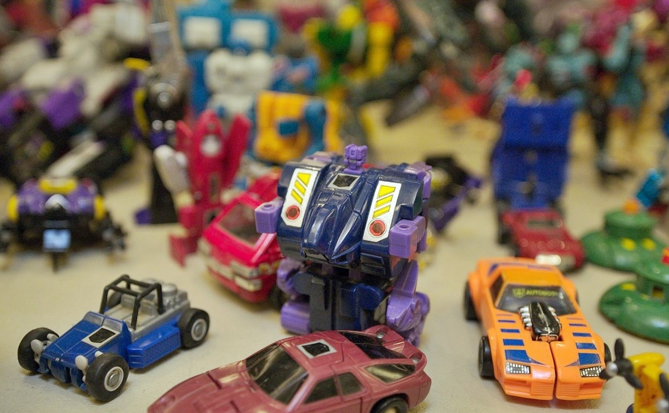Old-school Transformers and other vintage playthings will be in abundance at the Epic Toy Show.
