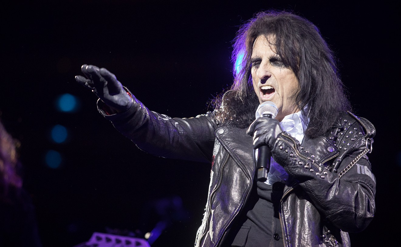 Alice Cooper's life and work are getting the adult coloring book treatment.