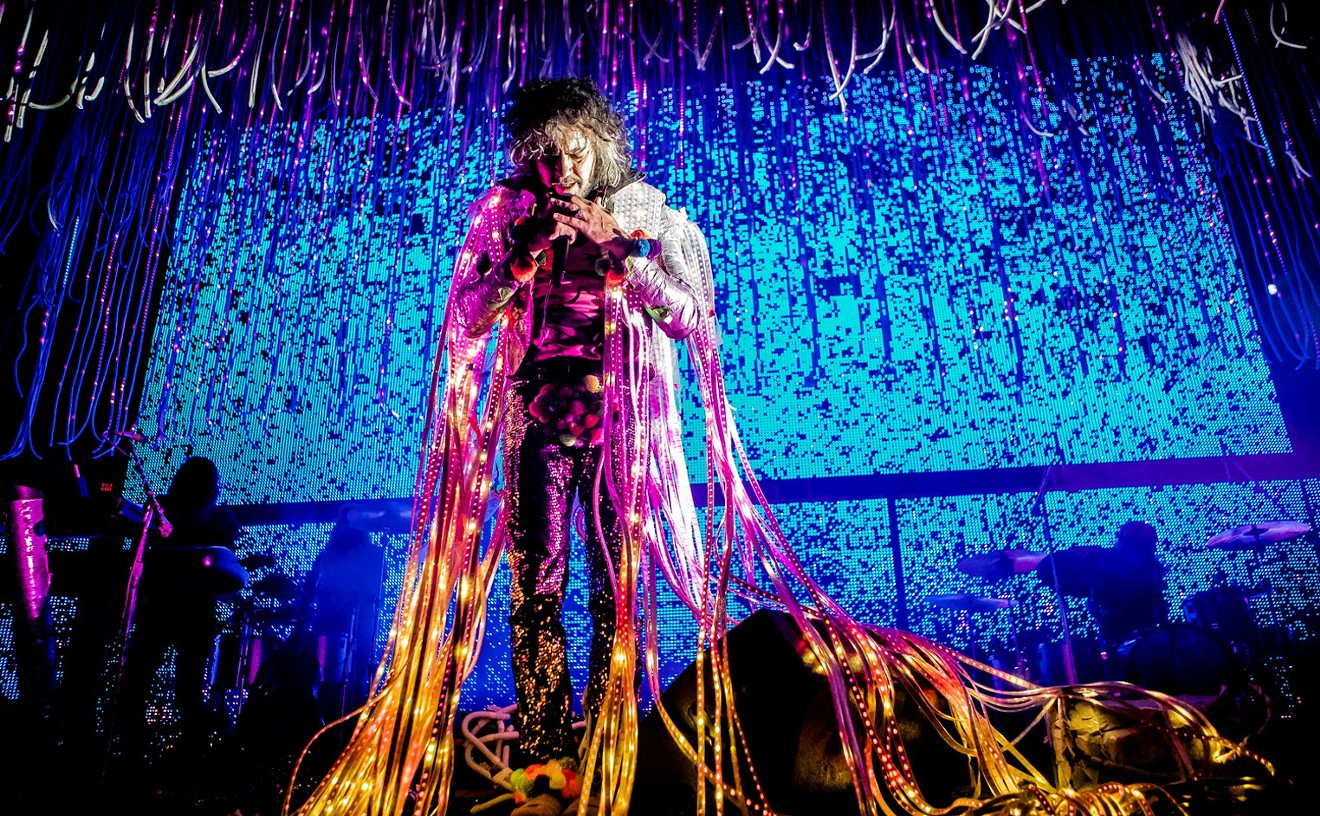 The Flaming Lips are scheduled to perform on Monday, August 23, at Marquee Theatre in Tempe.