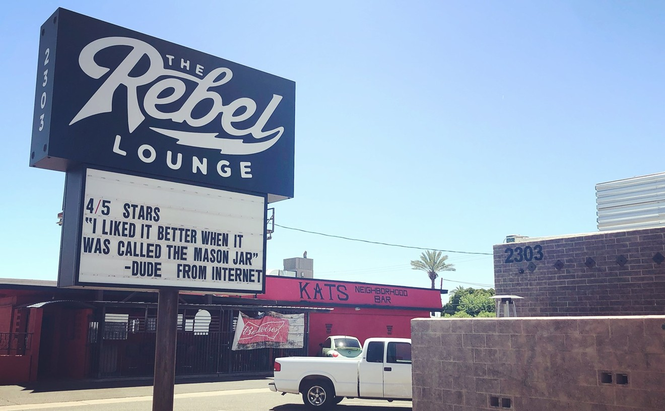 The Rebel Lounge in central Phoenix.