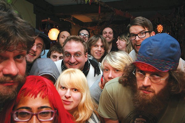 23 Psaegz, musicians, freak folk, electric, seth faergolzia