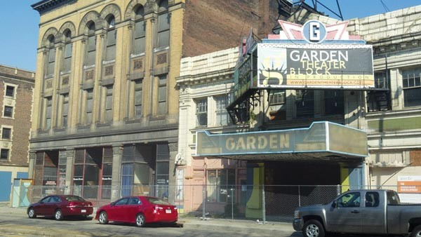 A change in plans for the Garden Theater block, on the North Side