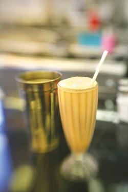 A milkshake from Pamela's P&G Diner - PHOTO: HEATHER MULL