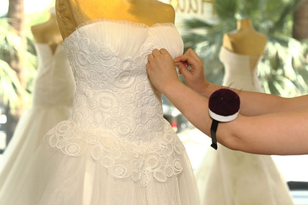 A new trend involves upcycling bridal gowns and bridesmaids\' dresses ...
