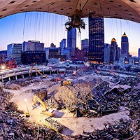 A photographer's curious tribute to the Civic Arena.