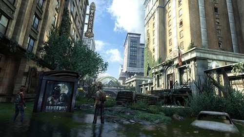 A Pittsburgh scene from The Last of Us