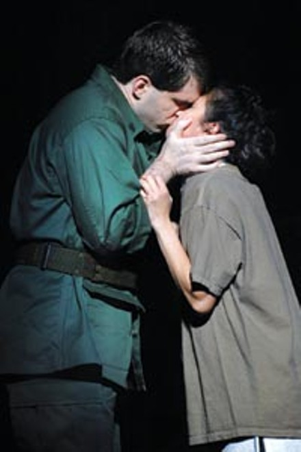 Aaron Ramey and Ma-Anne Dionisio in the Pittsburgh CLO's Miss Saigon