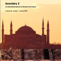 Academic journal <i>boundary 2</i>, edited in Pittsburgh, has a national reputation.