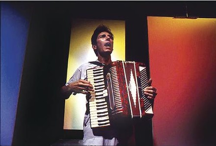 Acting accordion-ly: Steve Pellegrino - PHOTO BY LARRY RIPPEL
