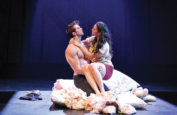 Adam Hagenbuch and Grace Rao play the leads in CMU Drama's Romeo & Juliet.