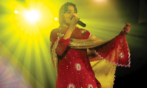 Afghan Star contestant Lema is bringing singing back.