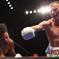 After Iraq, the ring holds few terrors for Sammy Vasquez Jr.
