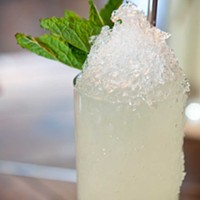 Butcher and the Rye Agave in Blume floral margarita. Photo by Heather Mull