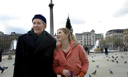 Age walks with beauty: Peter O'Toole and Jodie Whittaker