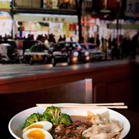 Ramen Bar Ajo ramen Photo by Heather Mull