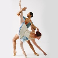 Alan Obuzor and Kelsey Bartman of Texture Contemporary Ballet, Sept. 26-28