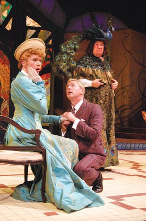 Alan Stanford in The Importance of Being Earnest