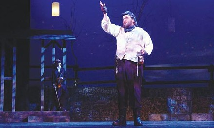 All day long he'd biddy biddy bum: James Critchfield as Tevye in Pittsburgh Musical Theater's Fiddler on the Roof. Photo courtesy of Patti Brahim.