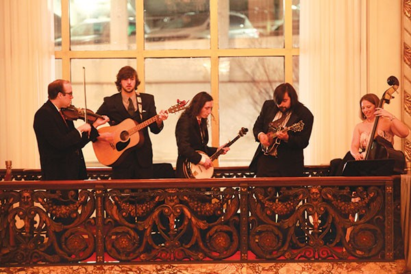 All dressed up with bluegrass to play: Shelf Life String Band
