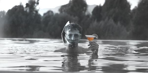 All the world's a pool: Fran Kranz