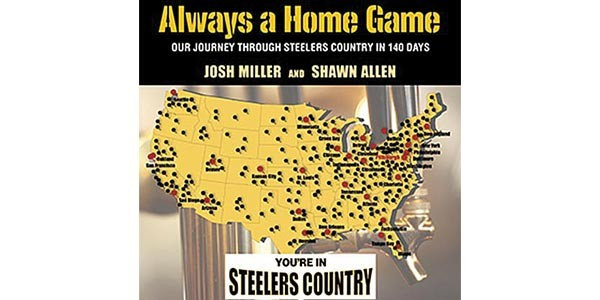 Always a Home Game book cover, pittsburgh steelers
