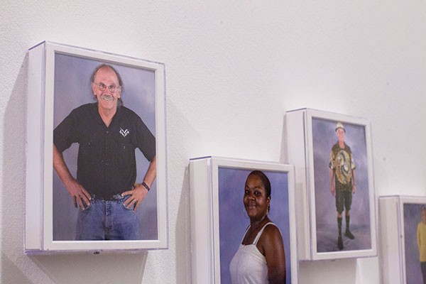 American artist Zoe Strauss' portraits of Homestead residents is part of the 2013 Carnegie International.