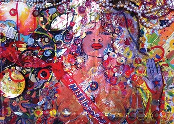 """An exhibit at the August Wilson Center showcases artwork from """"Affrilachia."""""""