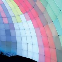 An interactive exhibit dazzles