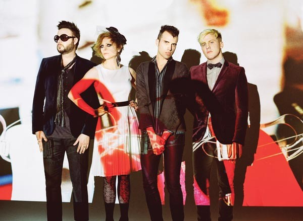"""Not a church rock group"": Neon Trees"