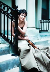 Anne Akiko Meyers. - PHOTO COURTESY OF LISA-MARIE MAZZUCCO