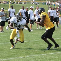 Antonio Brown should be the workhorse of the Steelers receiving corps.