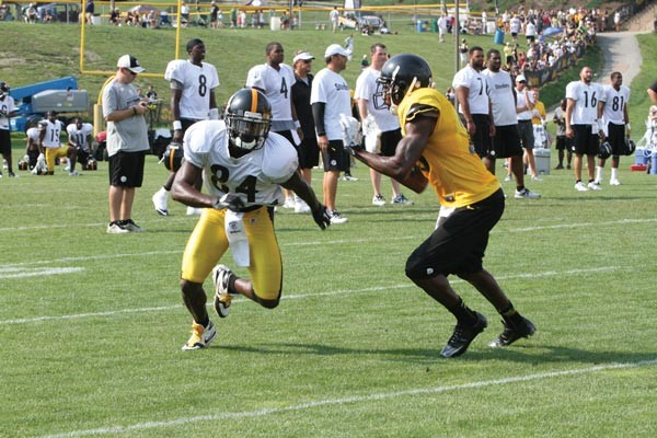 Antonio Brown should be the workhorse of the Steelers receiving corps. - PHOTO BY HEATHER MULL