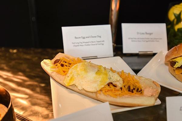 Aramark Bacon, Egg and Cheese Dog