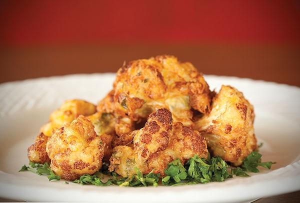 Arnabeet (fried cauliflower)
