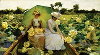 Art by Charles Courtney Curran - ART AND PHOTO COURTESY OF TERRA FOUNDATION FOR AMERICAN ART