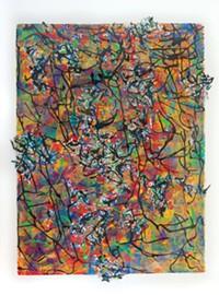 Art by Jo-Anne Bates, monotype prints